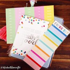 A little @erincondren happy mail today!! I love getting personalized stickers from her and this meal planner bookmark is just a adorable!! Plus I got the free art print  @madewithlovecrafter