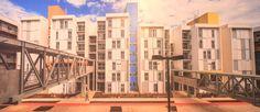 Tercer Premio Internacional: Autor: Mario Biselli e Artur Katchborian Obra: Conjunto habitacional Heliópolis Gleba G - SEHAB País: Brasil