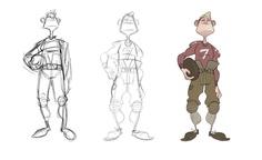 Trevor Hunter ✤ || CHARACTER DESIGN REFERENCES | キャラクターデザイン • Find more at https://www.facebook.com/CharacterDesignReferences || ✤