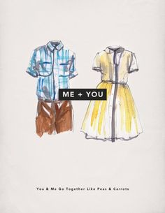 Forrest Gump and Jenny Love Card