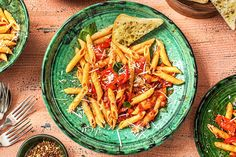 Pancetta & Basil Penne with Ciabatta Recipe Hidden Veggies, Basil Chicken, How To Make Sandwich, Keto Diet For Beginners, Ciabatta, Penne, Tasty Dishes, Tray Bakes, Meal Planning