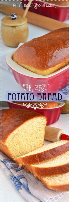 I am super excited to share THE Best Potato Bread recipe out there. I've worked to make this the best there is. So light and fluffy~ and easy!