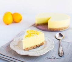 Tarta de limón + Galletas María:
