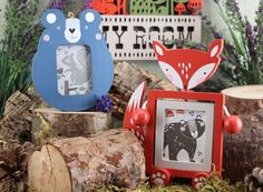 fox-and-bear-picture-frames-by-Gisela-Graham