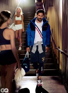 Joe Manganiello Shows You How to Dress Better at the Gym   GQ