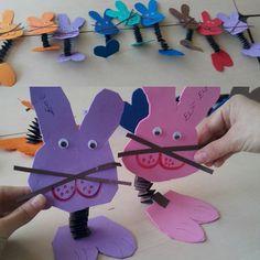 Easter bunny craft idea for kids – Crafts and Worksheets for Preschool,Toddler and Kindergarten
