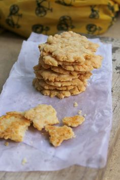 Easiest Parmesan biscuits - These Parmesan biscuits are easier than you think. These Parmesan biscuits just melt in the mouth and it is hard to believe they're so easy.  They're perfect as a snack or as party nibbles.  http://foodbetterbegood.blogspot.in/2015/02/easiest-parmesan-biscuits.html