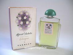 APRIL VIOLETS by Yardley Vintage cologne by VintageImageBox, £19.95