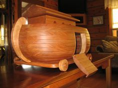Pull Toy - Noahs Ark  by CoyoteWoodWorks, $100.00