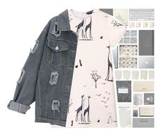"""""""giraffes"""" by xgracieeee ❤ liked on Polyvore featuring Mark's Tokyo Edge, Club Monaco, Miu Miu, Shabby Chic, Orla Kiely, Chanel, Crate and Barrel, Marc by Marc Jacobs, Mulberry and Rochas"""