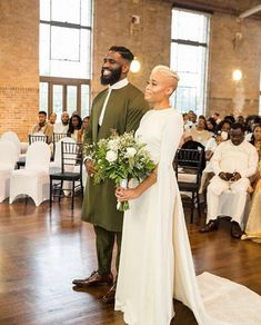 Black bride and groom Wedding Curls, Wedding Bride, Dream Wedding, Wedding Pics, Wedding Styles, Bridal Gowns, Wedding Gowns, Bridal Hair, African American Weddings