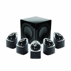 25 best home theater systems images on pinterest home movie mirage mx 51 channel miniature high performance speaker system set of 6 black fandeluxe Image collections
