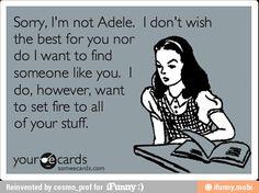 Sorry, I am not Adele... / iFunny :)