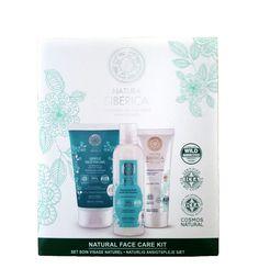Set Pflege für eine normale, trockene und sensible Haut, 425 ml. Natura Siberica