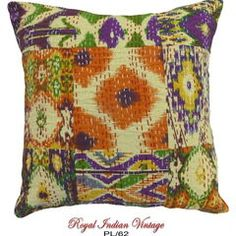 Cushion Cover DIY Cotton Hand Crafted Pillow PL62
