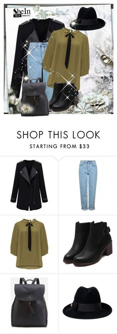 """""""SheIn  5"""" by mary-turic ❤ liked on Polyvore featuring Topshop, JunaRose and Gucci"""