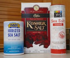 What you need to know about sodium and iodine