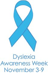 Dyslexia and Us - Ellie's ribbon