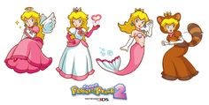 Super Princess Peach 2 Ideas by Peachy--pie.deviantart.com on @deviantART