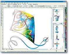 Tips For Designing Sticker Logos In CorelDraw Corel Draw Tutorial, Graphic Design Tips, Logo Sticker, Coreldraw, Autocad, Projects To Try, Digital Art, Photoshop, Scrapbook