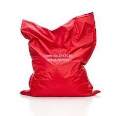 RED Color outdoor bean bag chair - home furniture - beanbag sofa beds