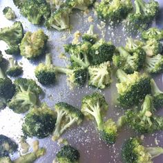 Roasted Garlic and Parmesean Broccoli – The Hungry Homemaker Blog