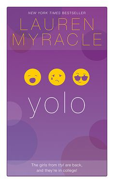 "Yolo Lauren Myracle: Through ""instant messages,"" chronicles the struggles best friends Maddie, Angela, and Zoe face during their freshman year in college. Ya Books, Book Club Books, Book Lists, Books To Read, Date, New Fiction Books, Internet Girl, Books For Teens, Teen Books"