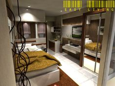 EASY LIVING INDONESIA - Interior Desain & Furniture: DESAIN APARTEMEN IBU HENIEQ - SURABAYA