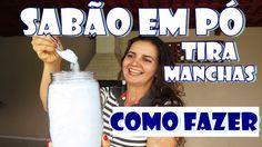 Fran Adorno: SABÃO EM PÓ TIRA MANCHAS - Como fazer com Fran Ado...