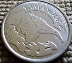 moedas de 1992 e 93 série fauna