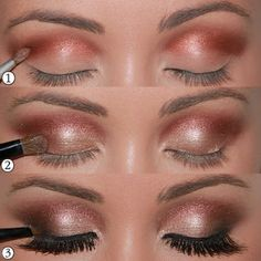 Be Stylish and Beautiful: Eye Makeup Photo Tutorials pt. 2
