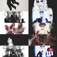 Blood video collage