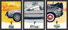 """Trilogia """"De volta para o futuro"""" - Filmes - Tcholos - A sua loja de quadros decorativos"""
