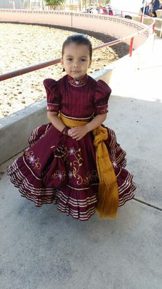 Children Escaramuza charra dress Don't Forget Bedroom Decorating Article Body: During the huge proce Mexican Fashion, Mexican Outfit, Mexican Dresses, Toddler Mexican Dress, Quince Dresses, 15 Dresses, Girls Dresses, Baby Girl Fashion, Kids Fashion