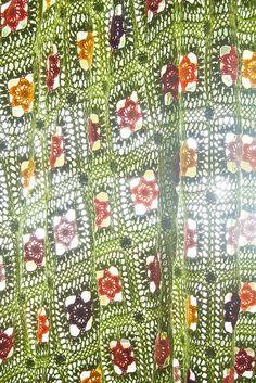 Truly beautiful #crochet Granny Square Blanket by abagfullofcrochet