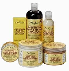 GOT TO TRY MOST OF THESE PRODUCTS !!!!Glam Natural Life | Natural Hair Blog: Product Review - SheaMoisture Jamaican Black Castor Oil Strengthen, Grow & Restore