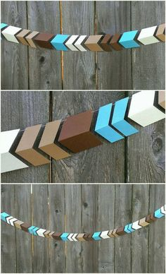 Paper Arrow Garland, Aztec, Tribal Birthday, by CarismaticDesigns www.carismaticdesigns.etsy.com