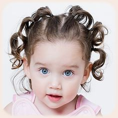 Cute & Simple Toddler Hairstyles