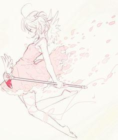 Cardcaptor Sakura | CLAMP | Madhouse / Kinomoto Sakura / 「桜」/「みえこ 小野咩子」のイラスト [pixiv]