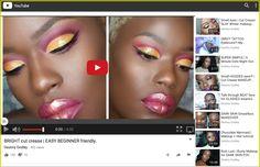 BRIGHT cut crease | EASY BEGINNER friendly. - YouTube