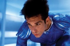 This is so stupid and so funny at the same time. The point is that Stiller is a great actor, and he was able to create a character so ridiculous and making him look serious, as he actually exist.   You have tu watch ZOOLANDER