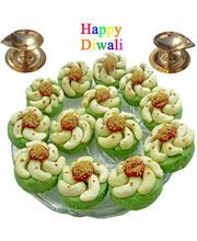 Diwali Special Offer Kaju Cross Shape Sweets 250 gm. Merge in the ambrosial taste of Cashews.