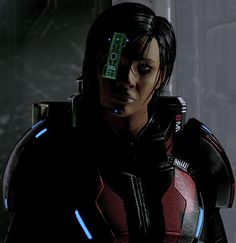 Commander Mandala Shepard - Mass Effect 2 part 3 - Character Profile. Ominous shadows ! From our article at http://www.writeups.org/fiche.php?id=5535