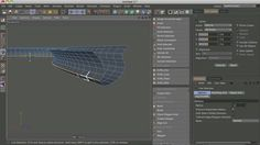 c4d tip: moving edge loops along their non existent normals