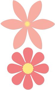 Silhouette Design Store - View Design #20216: flowers