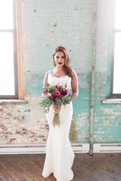 Modern glam bridal style | Lauren Fair Photography