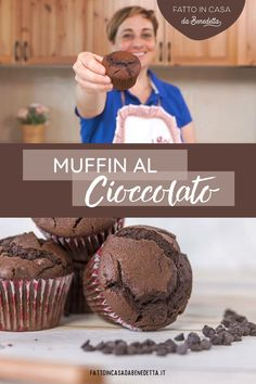 Cupcakes, Italian Recipes, Muffins, Bacon, Bakery, Goodies, Food And Drink, Sweets, Snacks