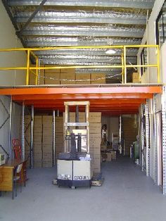 Mezzanine Floors the smart storage alternative. Use your vertical space!!!  For more