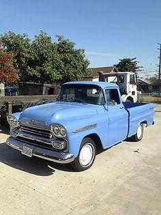1959 Chevy Apache Fleetside 3100