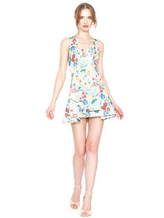 TANNER ASYMMETRICAL DRESS by Alice + Olivia